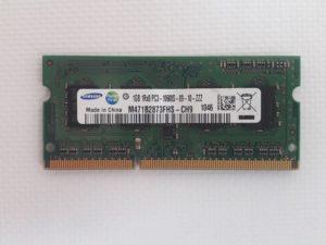 Оперативная память Kingston, Samsung 1 GB / DDR3 / PC3-10600S / 1333Mhz