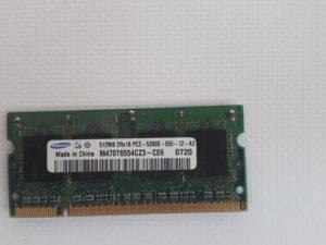 Оперативная память Samsung 512 MB / DDR2 / PC2-3200 ,PC2-4200, PC2-5300 / 667Mhz
